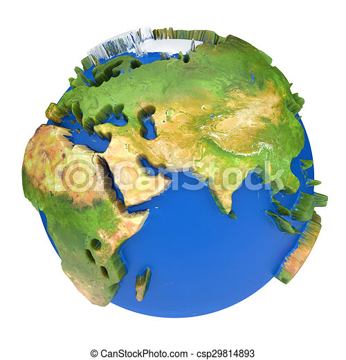 Earth Planet The Earth Texture Of This Image Furnished By Nasa