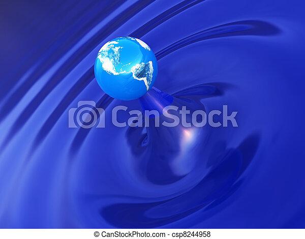 earth ripple - csp8244958