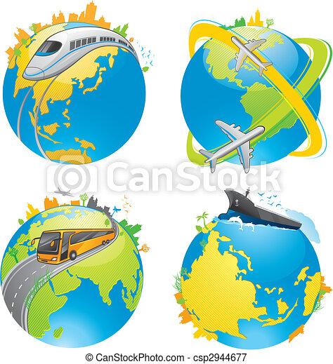 earth transport - csp2944677