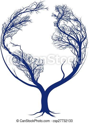 Earth tree - csp27732133