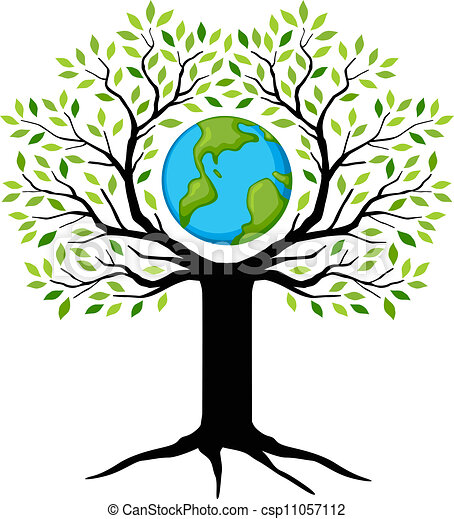 earth tree vector clip art search illustration drawings and eps rh canstockphoto com Earth Recycle Clip Art Save the Earth Quotes