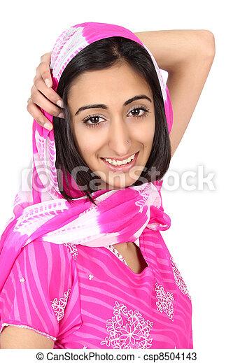 East Indian teen - csp8504143