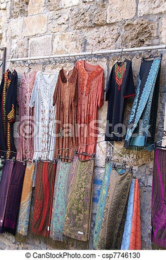 East market in Jerusalem - csp7746130