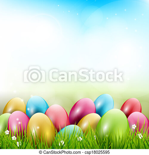 Easter background - csp18025595