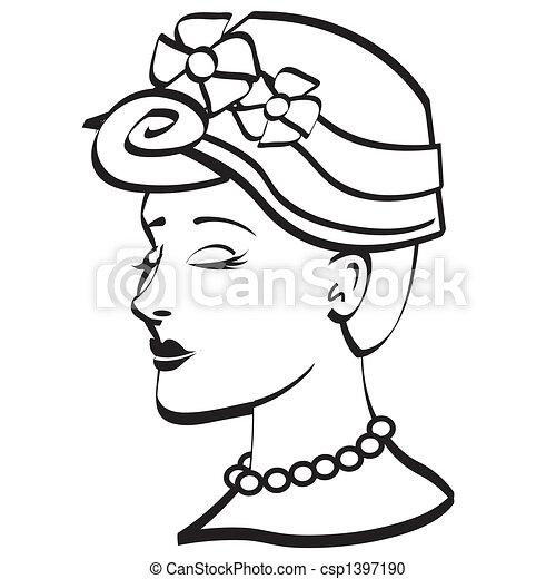 easter bonnet clip art black white easter bonnet clip art vector rh canstockphoto com amish bonnet clip art amish bonnet clip art