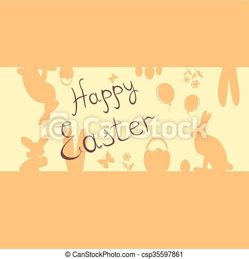 Easter bunny - csp35597861
