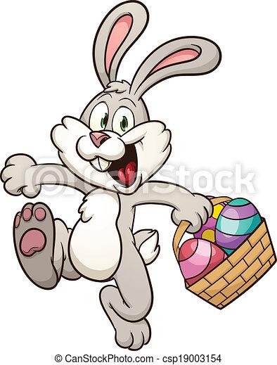 Easter bunny - csp19003154