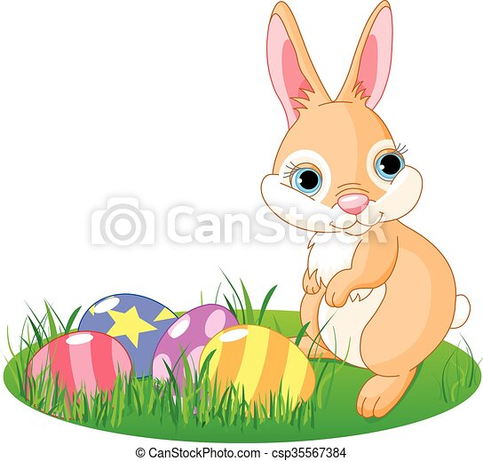 Easter Bunny - csp35567384
