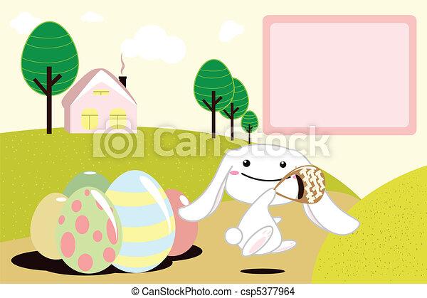 Easter bunny - csp5377964