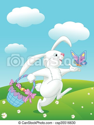 Easter Bunny - csp35516630