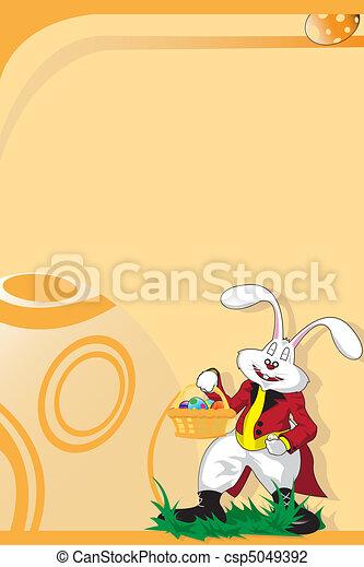 Easter bunny - csp5049392