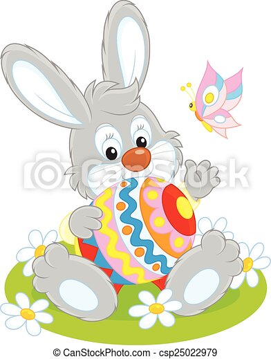 Easter Bunny - csp25022979