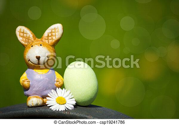 Easter bunny - csp19241786