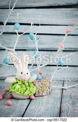 Easter bunny - csp18517022