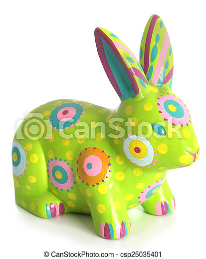 Easter bunny - csp25035401
