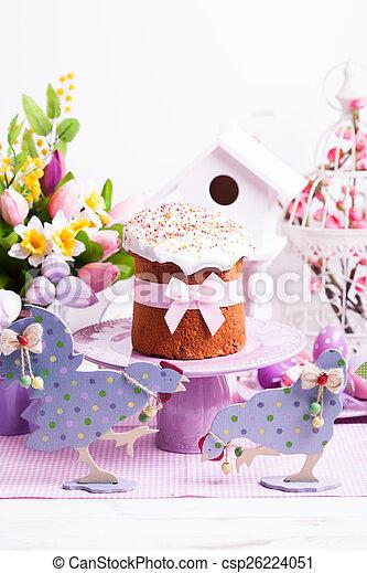 Easter cake  - csp26224051