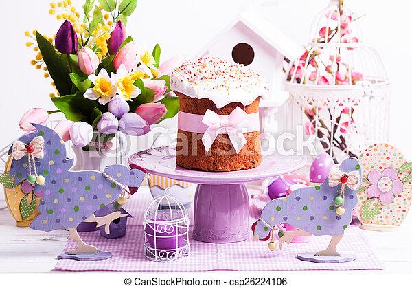 Easter cake  - csp26224106