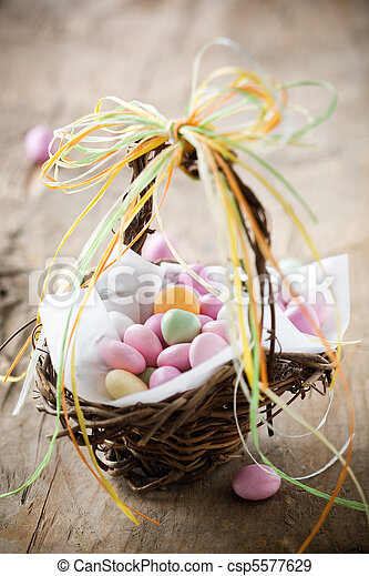 Easter candy - csp5577629