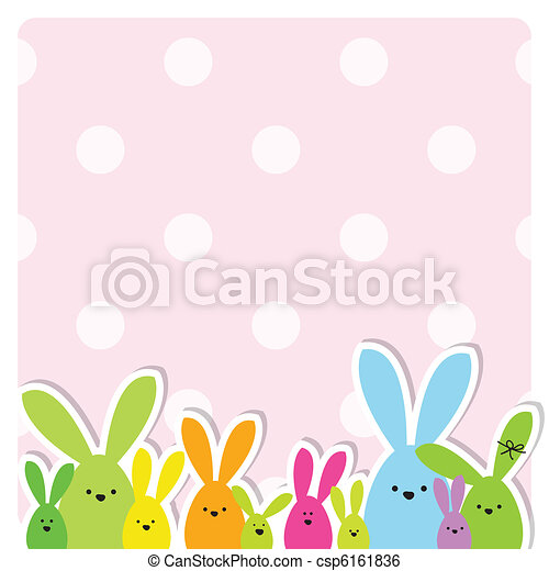 Easter card - csp6161836