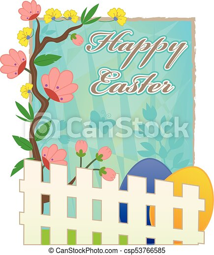 Vector Picket Fence With Spring Flowers Isolated On White Background  Royalty Free Cliparts, Vectors, And Stock Illustration. Image 20069580.