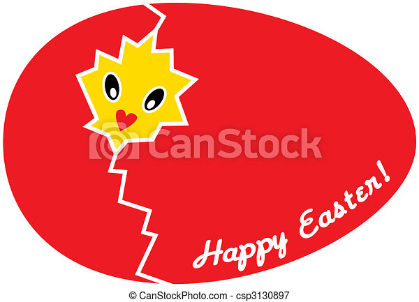 easter card - csp3130897
