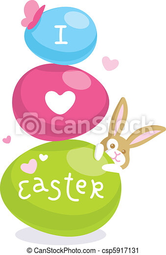Easter card - csp5917131
