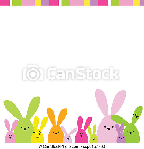 Easter card - csp6157760