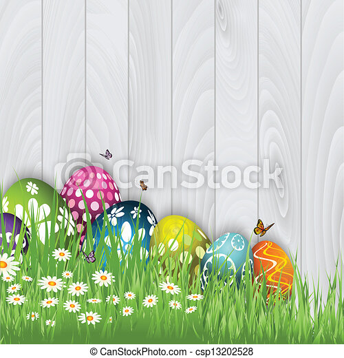 Easter egg background  - csp13202528