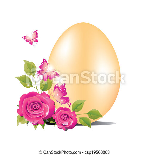 Easter egg - csp19568863