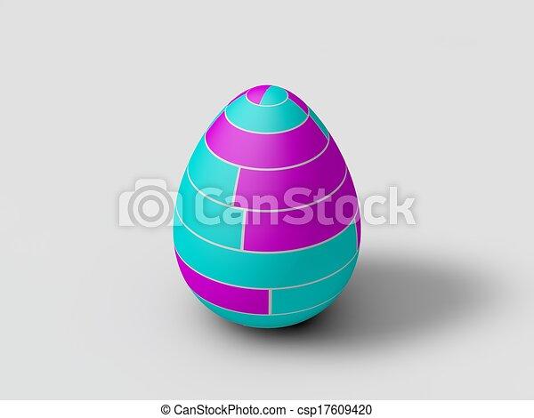 easter egg - csp17609420
