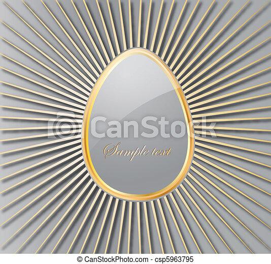 Easter Egg. Vector - csp5963795