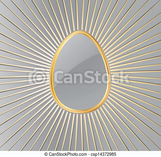 Easter Egg. Vector - csp14372985