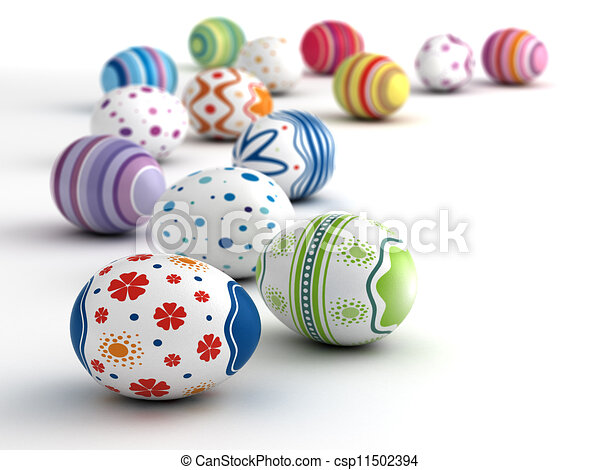 Easter Eggs - csp11502394