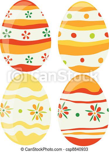 Easter eggs - csp8840933