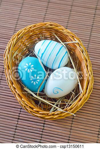 easter eggs - csp13150611