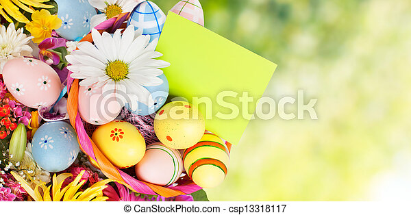 Easter eggs. - csp13318117