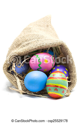 Easter eggs - csp25529178