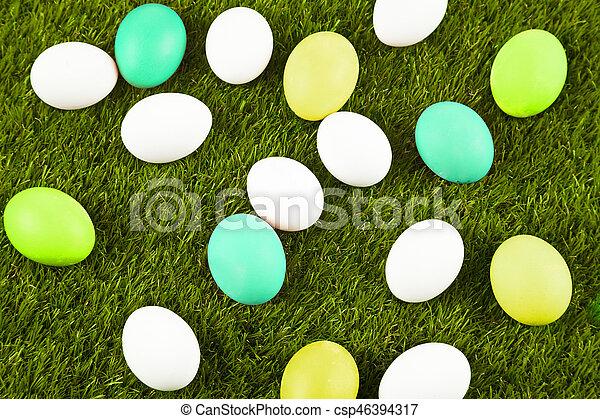 easter eggs - csp46394317