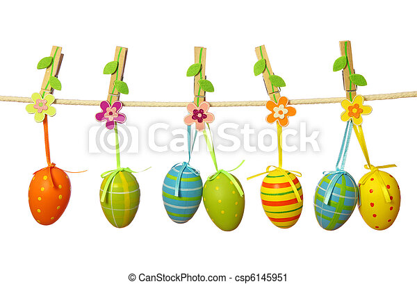 Easter eggs - csp6145951