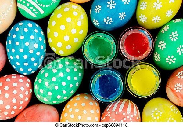 Easter eggs - csp66894118
