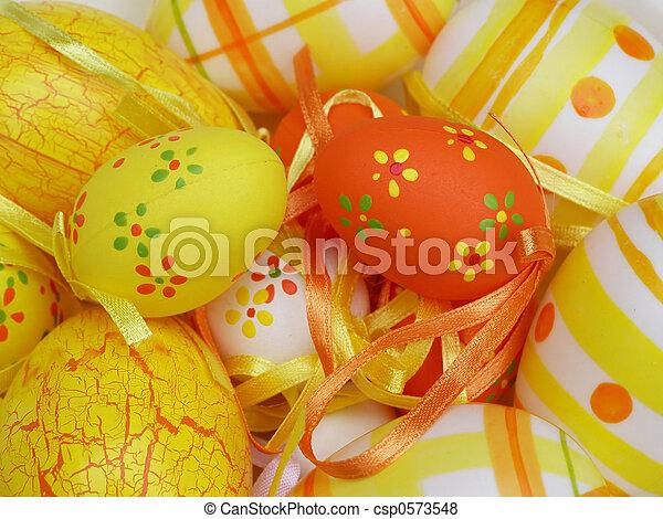 Easter eggs - csp0573548