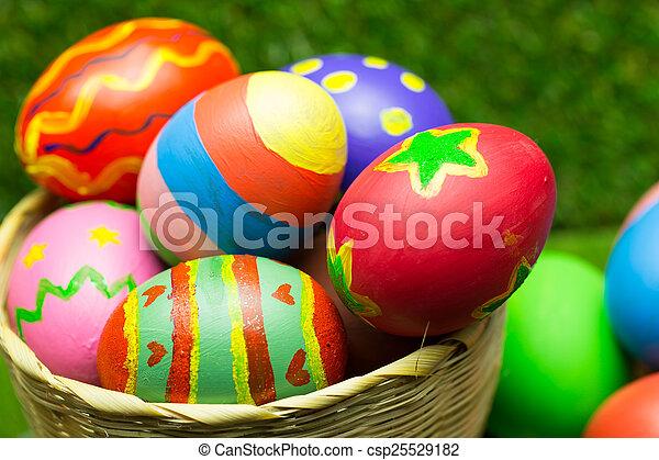 Easter eggs - csp25529182