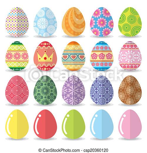 Easter eggs set - csp20360120