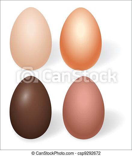 Easter Eggs Set - csp9292672