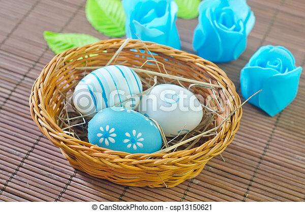 easter eggs - csp13150621