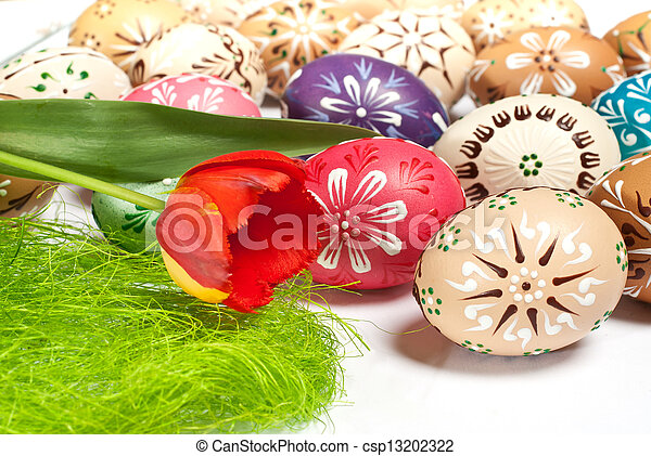 Easter eggs - csp13202322