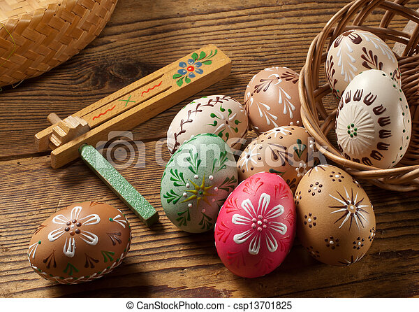 Easter eggs - csp13701825