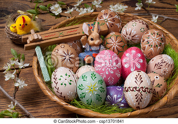 Easter eggs - csp13701841