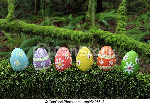 Easter eggs - csp25408847