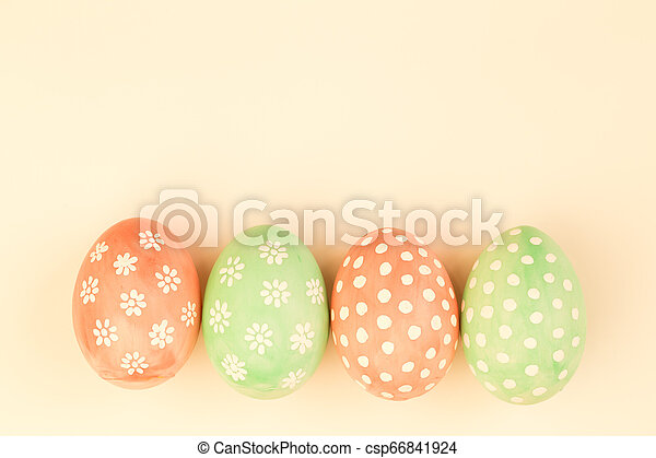 Easter eggs - csp66841924